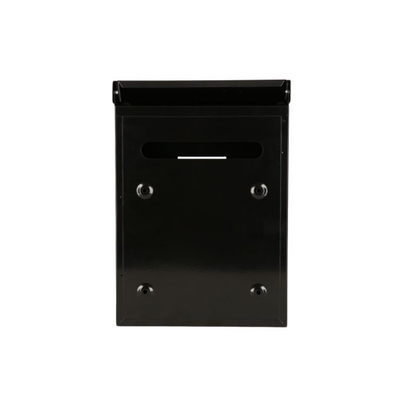 Kronberg Basic postaláda kulcsos zárral fekete színben 290x200x60mm
