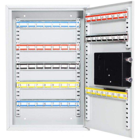 KS64 kulcsszekrény elektronikus zárral 450x300x80mm