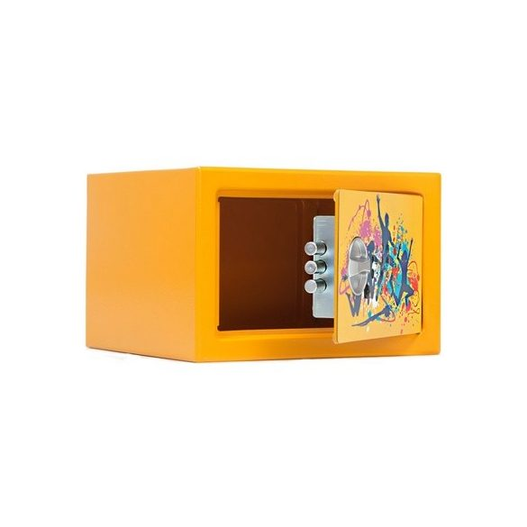 Kronberg Dance bútorszéf gyerekeknek elektronikus zárral 170x260x230mm