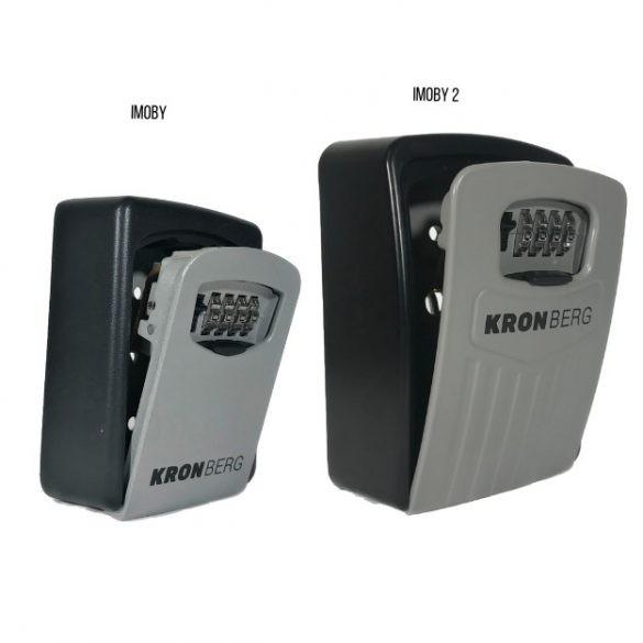 Imoby2 nagy méretű kulcstároló mechanikus számzárral 145x105x52mm