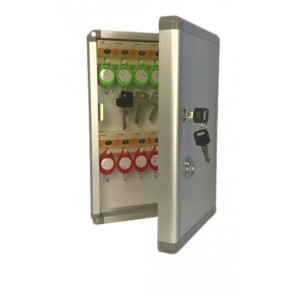 Toronto24 kulcskazetta kulcsos zárral 325x220x55mm