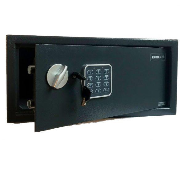 Kronberg Protect Laptop bútorszéf elektronikus zárral 200x430x380mm
