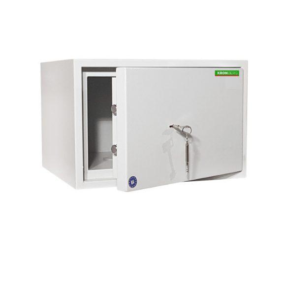 Kronberg IVT300 páncélszekrény kulcsos zárral 300x445x400mm