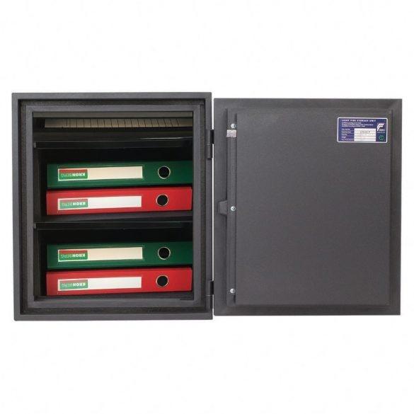 Kronberg Fire51 tűzálló páncélszekrény elektronikus zárral 510x445x425mm