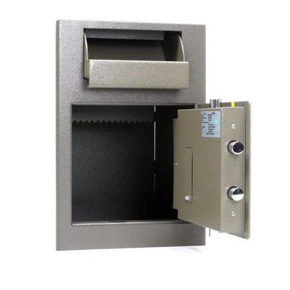 Kronberg IVT19 bedobófiókos páncélszekrény kulcsos zárral 489x342x381mm