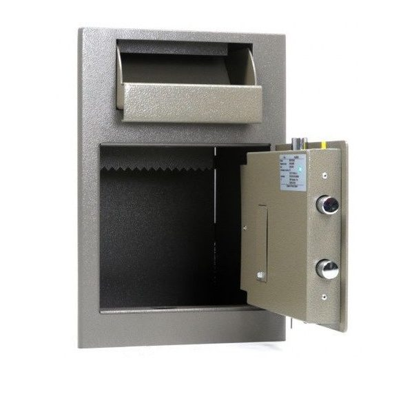 Kronberg IVT19 bedobófiókos páncélszekrény elektronikus zárral 489x342x381mm