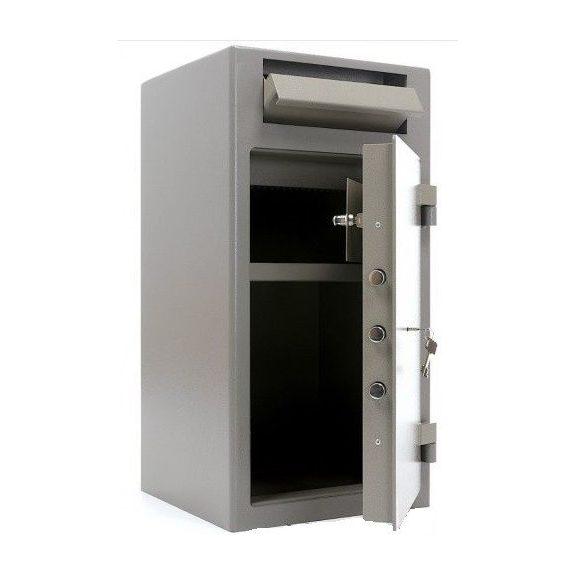 Kronberg IVT32 bedobófiókos páncélszekrény kulcsos zárral 812x419x427mm