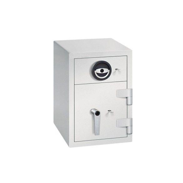 Kronberg IVT165 kulcsos bedobófiókos páncélszekrény kulcsos zárral 650x440x550mm