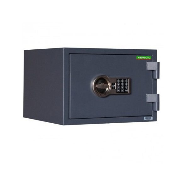 Kronberg FireProfi30 tűzálló páncélszekrény elektronikus zárral 296x430x365mm