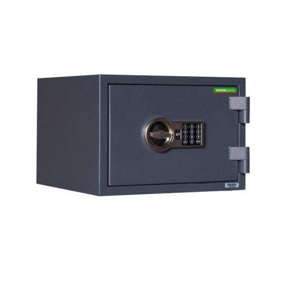 Kronberg FireProfi32 tűzálló páncélszekrény elektronikus zárral 315x445x425mm