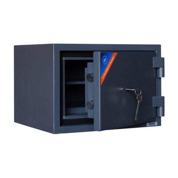 Kronberg ProFire30 tűzálló páncélszekrény kulcsos zárral 300x427x385mm