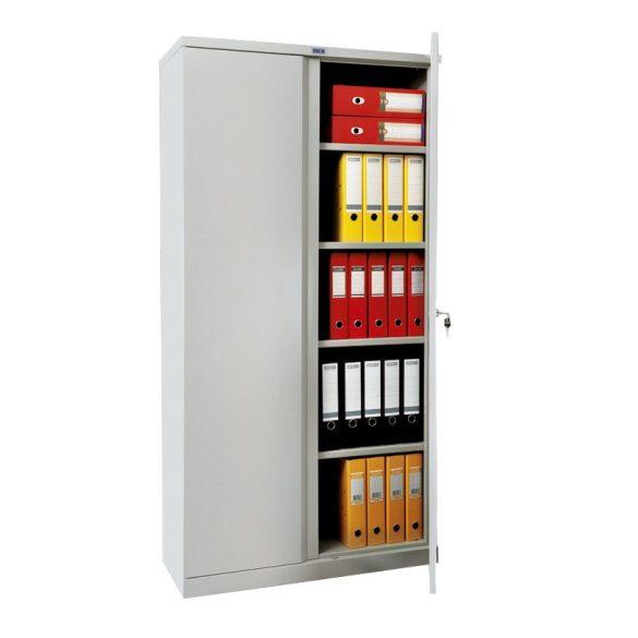 Kronberg IVT Office4/2 ajtós irattároló szekrény kulcsos zárral 1830x915x458mm