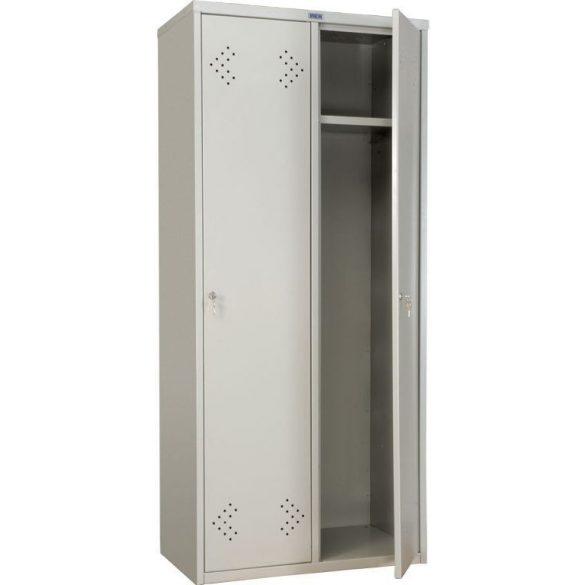 Kronberg LINE IVT-21/2 ajtós öltözőszekrény kulcsos zárral 1830x575x500mm