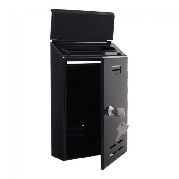 Standard I postaláda fekete színben 260x170x60mm