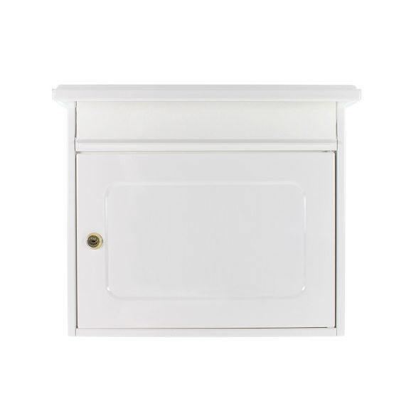 Wörthersee postaláda fehér színben 350x390x205mm