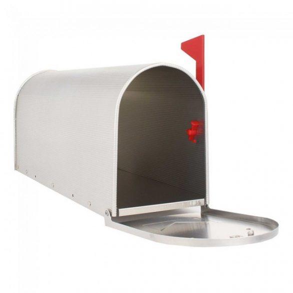 Mailbox ALU US aluminium postaláda ezüst színben 220x165x480mm