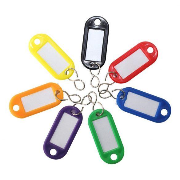 STV címkés többszínű kulcstartó 200db