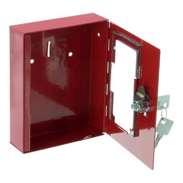 Ns1 vészkulcstartó fali doboz 150x120x32mm