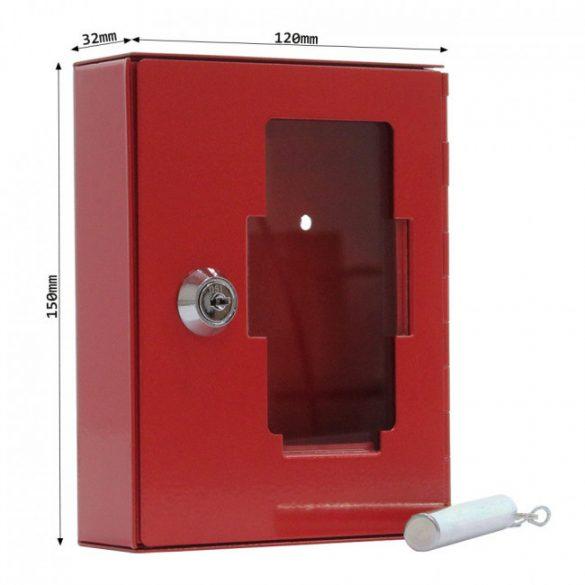 Nsk1 vészkulcstartó fali doboz 150x120x32mm