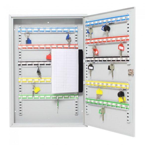 S100 kulcsszekrény kulcsos zárral 550x380x80mm