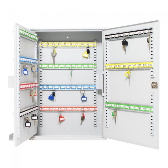 S150 kulcsszekrény kulcsos zárral 550x380x140mm