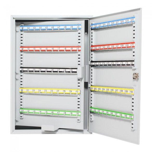 S200 kulcsszekrény kulcsos zárral 550x380x140mm
