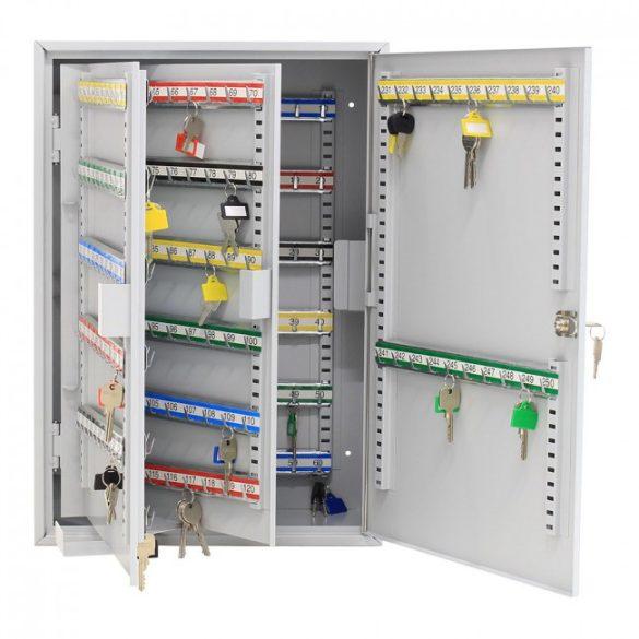 S250 kulcsszekrény kulcsos zárral 550x380x205mm
