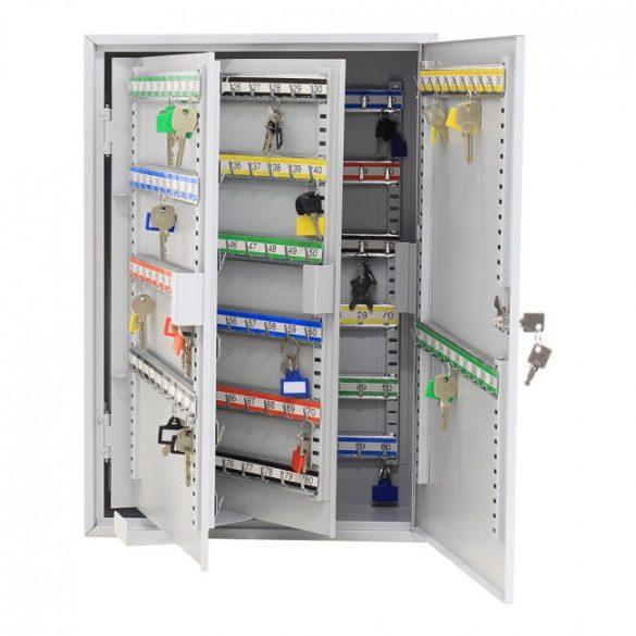 S300 kulcsszekrény kulcsos zárral 550x380x205mm