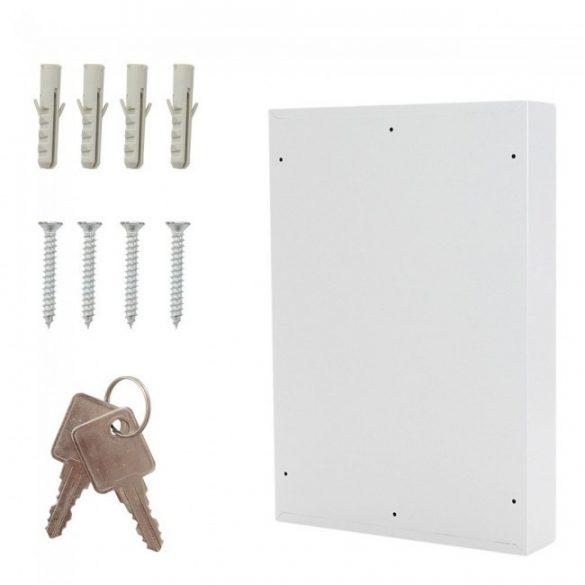 S50 kulcsszekrény kulcsos zárral 550x380x80mm