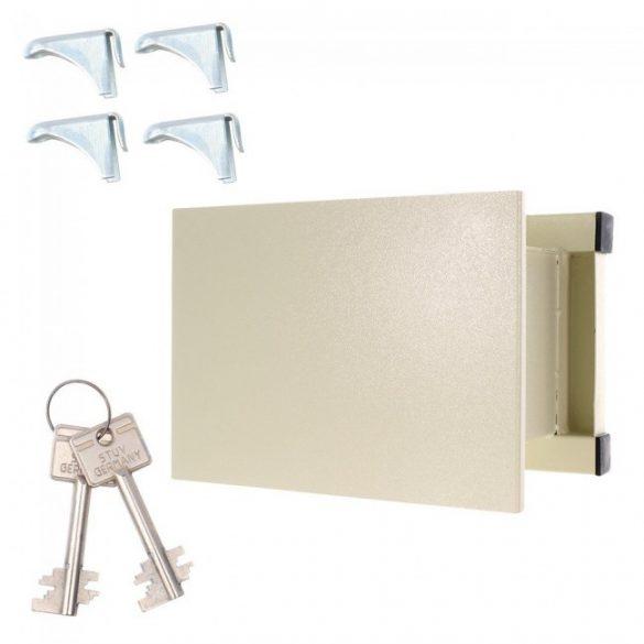 WN26 fali széf kulcsos zárral 270x370x265mm