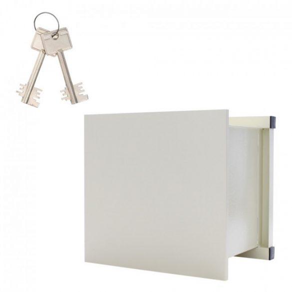 WNO45 fali széf kulcsos zárral 470x515x375mm