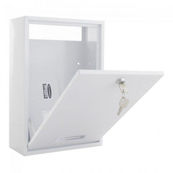 Indoor postaláda fehér színben 365x250x110mm