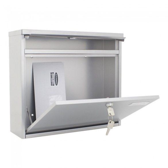 Hochhaus II postaláda ezüst színben 315x360x115mm