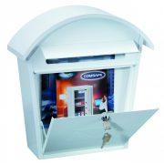 Jesolo postaláda fehér színben 370x360x135mm