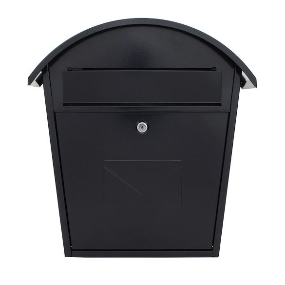 Jesolo postaláda fekete színben 370x360x135mm
