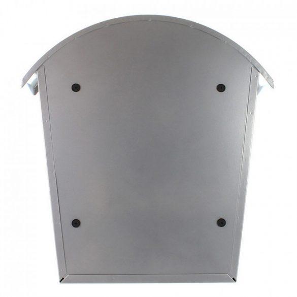 Jesolo postaláda ezüst színben 370x360x135mm