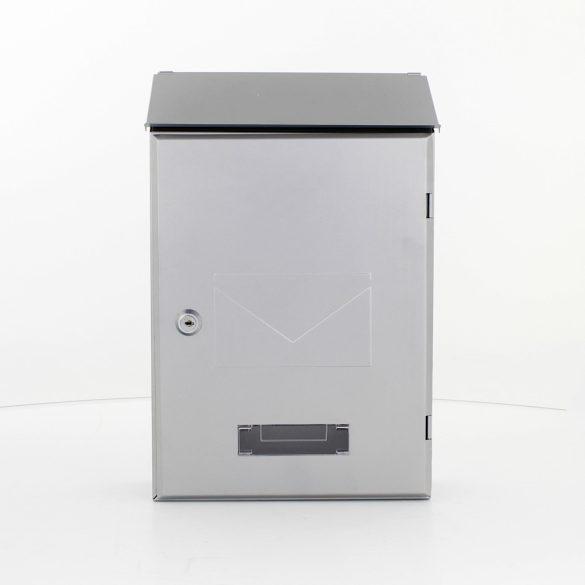 Pisa postaláda ezüst színben 360x235x95mm