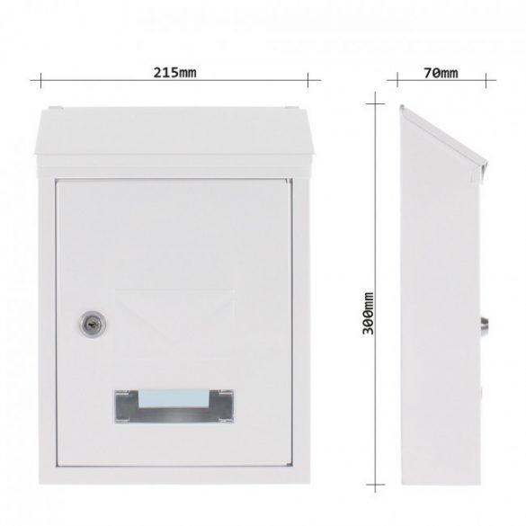 Udine postaláda fehér színben 300x215x70mm