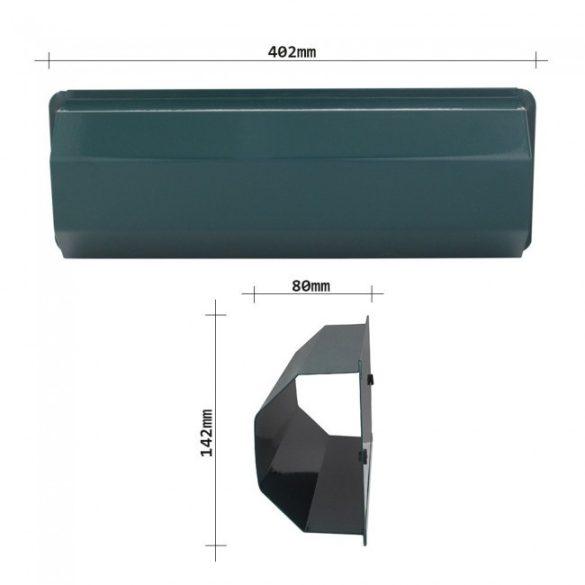 Pescara újságtartó zöld színben 142x402x80mm