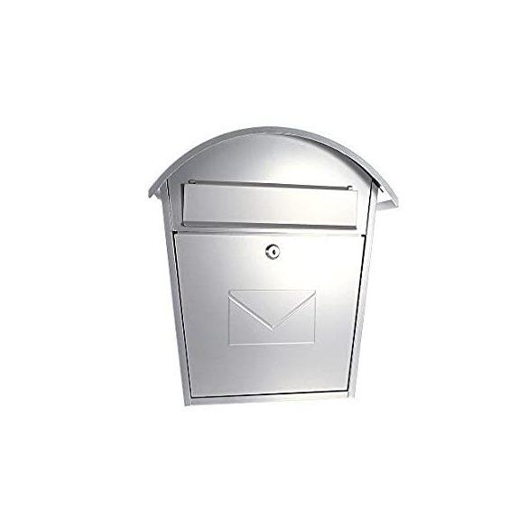 Aosta Set postaláda újságtartóval ezüst színben 515x402x132mm