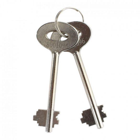 Dolomit4 faliszéf kulcsos zárral 280x450x200mm