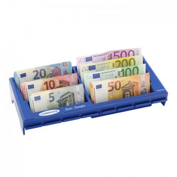 Notes euró bankjegytároló tálca 65x330x150mm