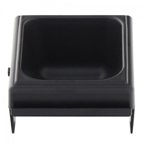 Cash pénzérme tároló tálca fekete színben 45x85x95mm