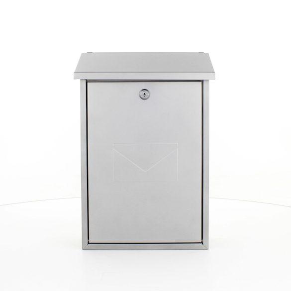 Parma postaláda ezüst színben 400x270x115mm