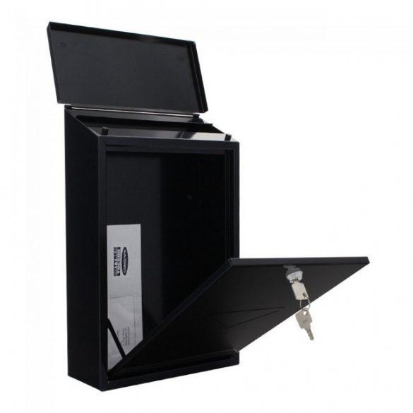 Parma postaláda fekete színben 400x270x115mm