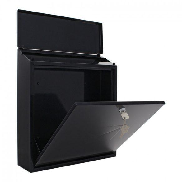 Firenze postaláda fekete színben 390x365x115mm