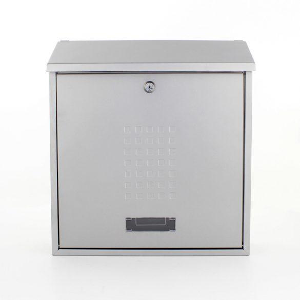 Bolzano postaláda ezüst színben 400x365x115mm
