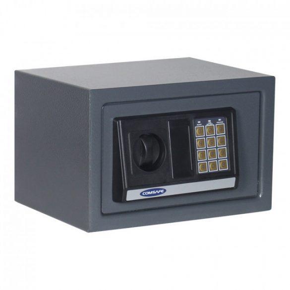 Atlantismini1 fekete bútorszéf elektronikus zárral 200x310x250mm