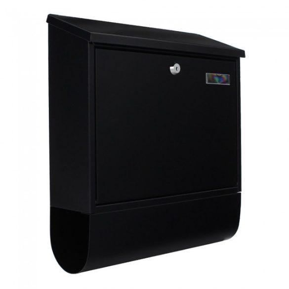 Villa Spezial Set postaláda újságtartóval fekete színben 415x365x115mm