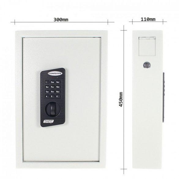 KeyTronic 48 kulcstároló elektronikus zárral 450x300x90mm